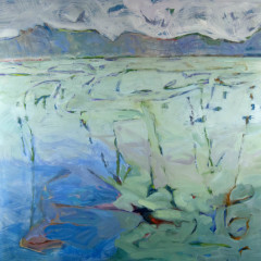 MountainLake17Oilcanvas48x48MelSmothers2016A